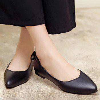 Pointed Toe Bowkot Flat Shoes