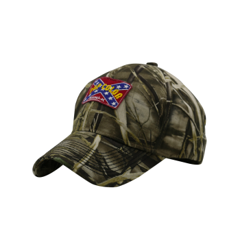 Jungle Baseball Hat with Embroidered Applique
