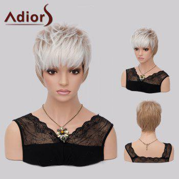 Adiors Colormix Layered Straight Short Neat Bang Synthetic Wig