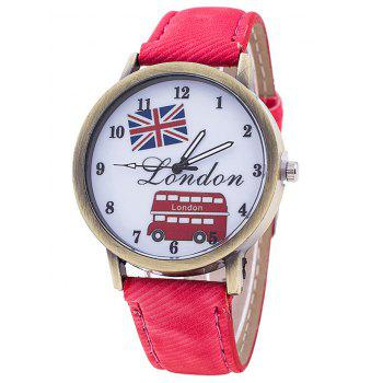 London Cartoon Bus Jean Watch