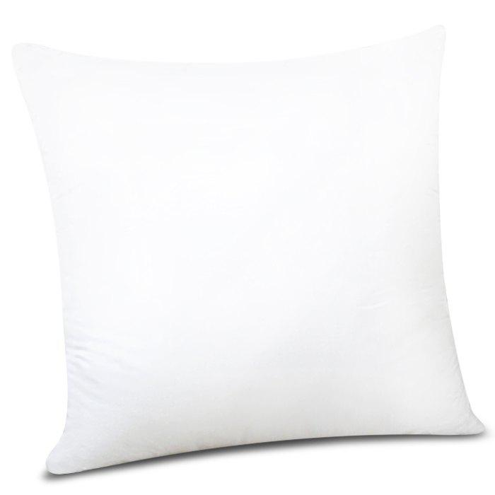 Stylish Solid Color Square Shape PP Pillow Inner (Without Pillowcase) - WHITE