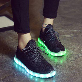 Breathable Led Luminous Athletic Shoes