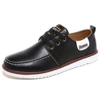Stitching Color Block Casual Shoes