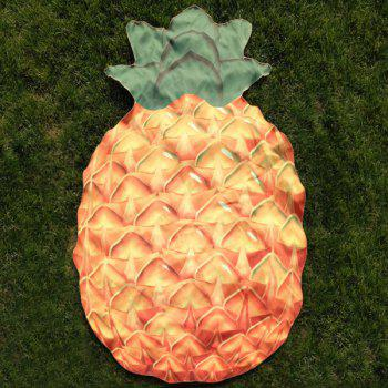 Pineapple Shape Beach Throw