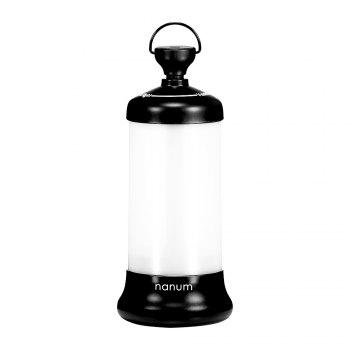 USB Rechargeable télescopique Lampe LED Night Light - Noir