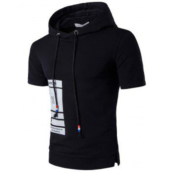 Graphic Hooded T-Shirt