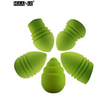 Multipurpose Water Swellable Makeup Sponges - GREEN
