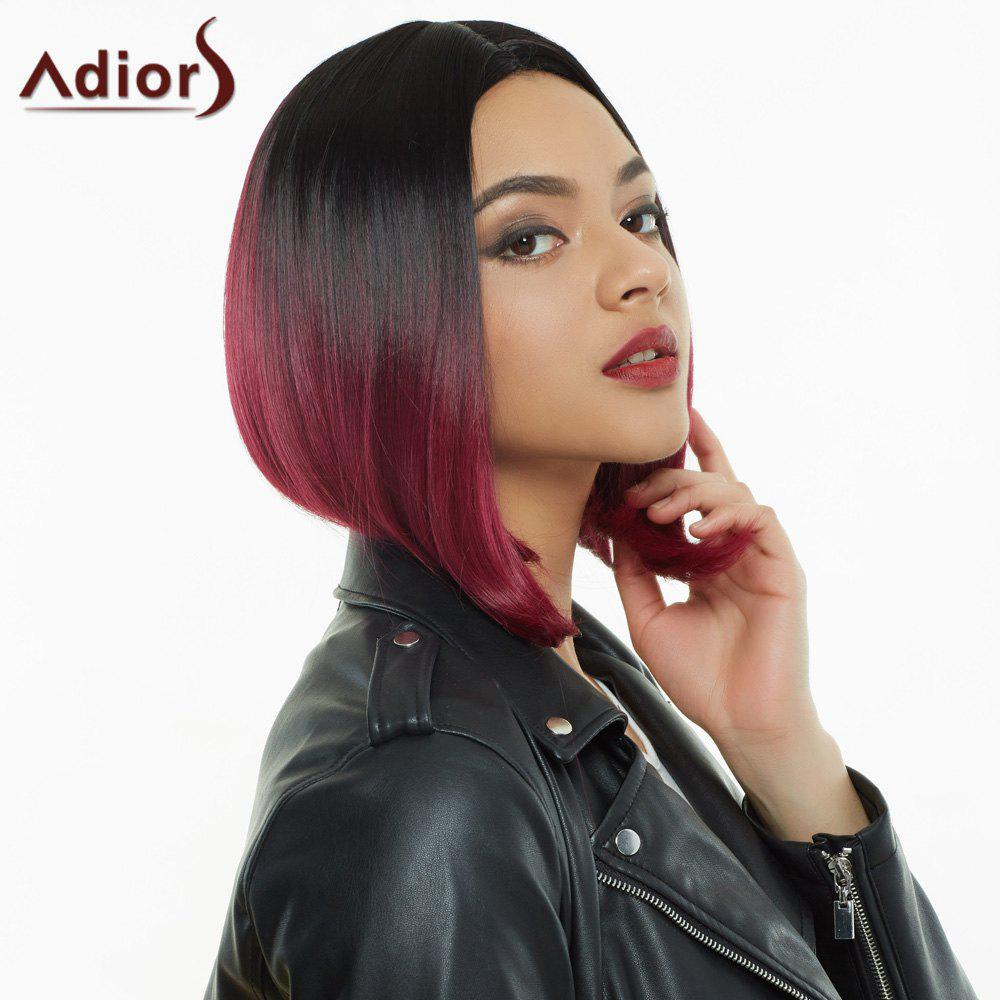 Adiors Colormix Short Middle Parting Straight Synthetic Wig - COLORMIX