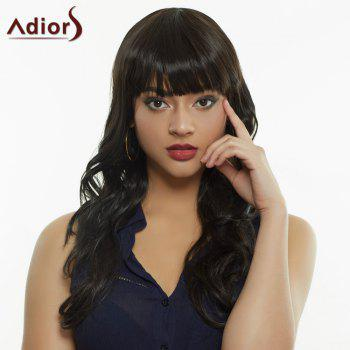 Women's Stylish Full Bang Synthetic Curly Wig
