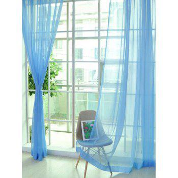 Window Decor Sheer Tulle Curtain For Living Room