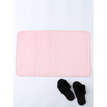 Coral Fleece Non Slip Absorbent Rug