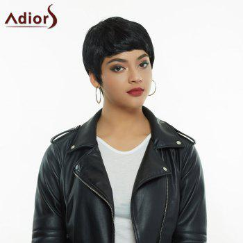 Women's Stylish High Temperature Fiber Ultrashort Wig