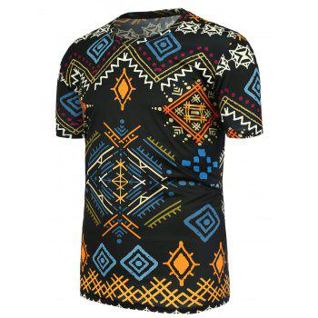 Geometric Ethnic Printed T-Shirt