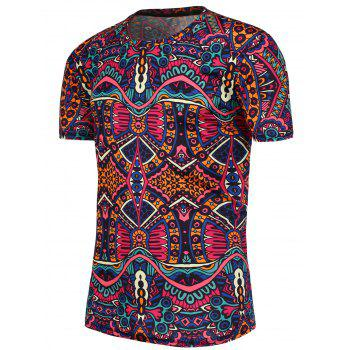 National Printed Short Sleeves T-Shirt