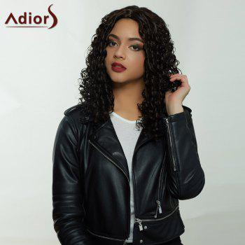 Adiors Hair Synthetic Long Middle Part Afro Curly Wig