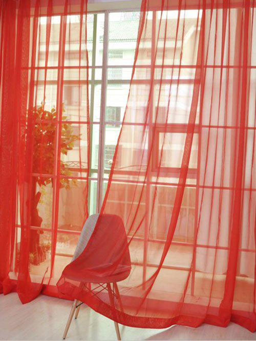 Window Decor Sheer Tulle Curtain For Living Room flower embroidered sheer window tulle for living room