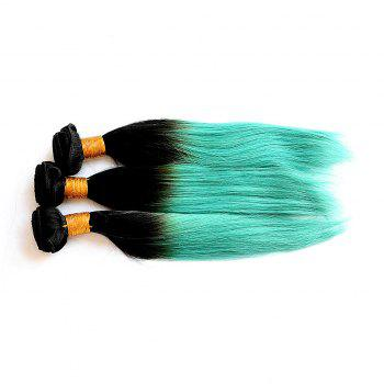 1 Pc/Lot Glossy Straight 8A Virgin Brazilian Hair Weave - COLORMIX COLORMIX