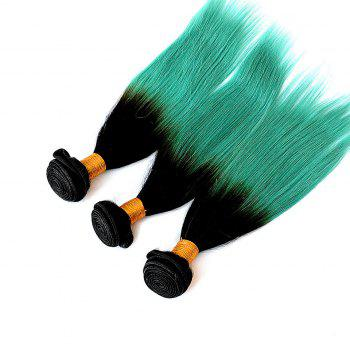 1 Pc / Lot Glossy droite 8A Virgin Brazilian Hair Weave - multicolorcolore 16INCH