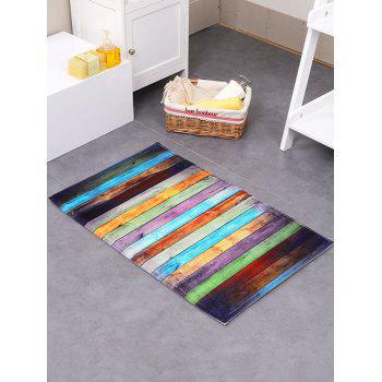 Colorful Stripe Antislip Indoor Absorbent Rug