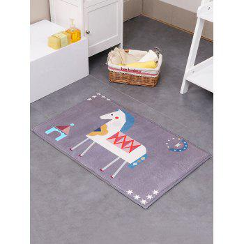 Cartoon Bath Water Absorption Antislip Rug