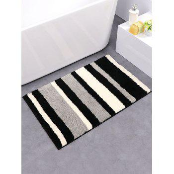 Eco-Friendly Soft Absorbent Stripe Design Rug