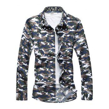 Camo Long Sleeve Shirt