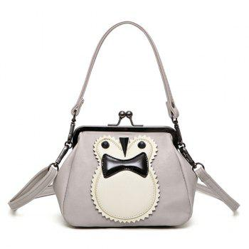 Owl Kisslock Cross Body Bag