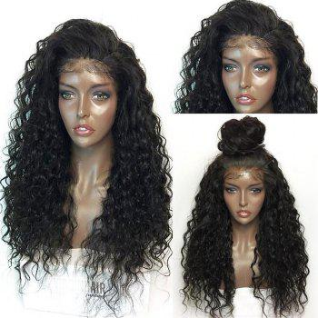 Long Lace Front Fluffy Curly Synthetic Hair Wig