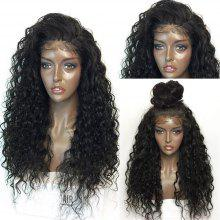 Fluffy Curly Long Lace Front Synthetic Wig