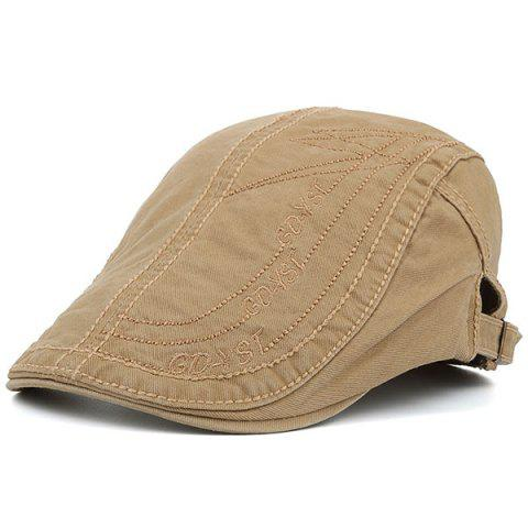 GDYST Embroideried UV Protection Cadet Hat - KHAKI