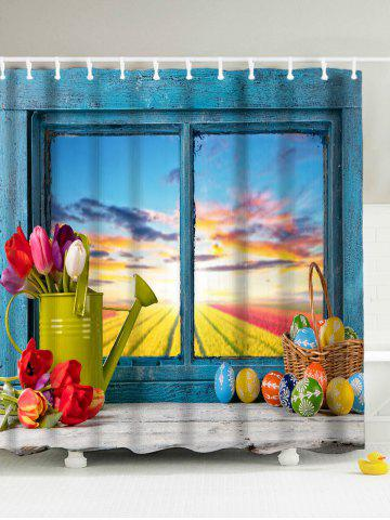 2018 Easter Shower Curtain Online Store. Best Easter Shower Curtain ...