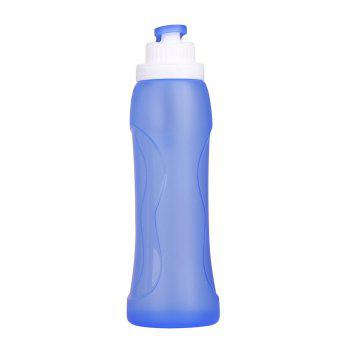 500ML Silicone Folding Water Bottle