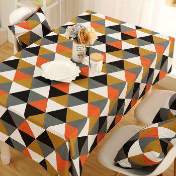 Geometry Pattern Oilproof Dining Table Cloth