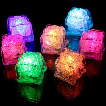 LED Light Up Flash Ice Cube