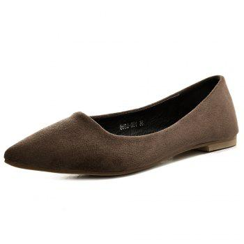 Slip On Pointed Toe Flat Shoes