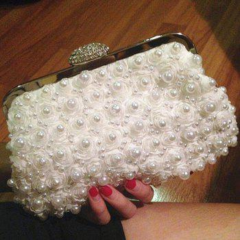 Beaded Petals Evening Bag
