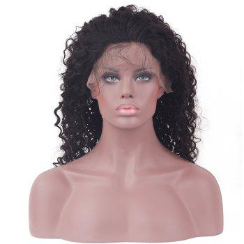 Long Kinky Curly Lace Front Human Hair Wig