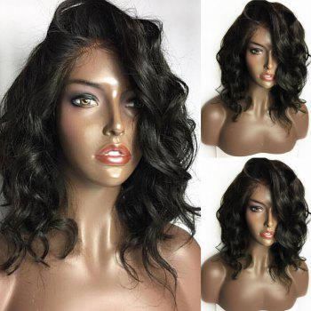 Long Curled Side Part Lace Front Synthetic Wig