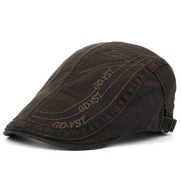 GDYST Embroideried UV Protection Cadet Hat - COFFEE