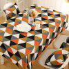 Geometry Pattern Oilproof Dining Table Cloth - COLORMIX 140*140CM