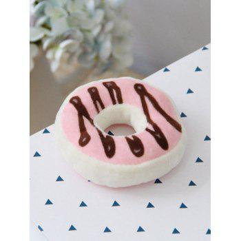 Plush Donut Shape Fridge Magnet