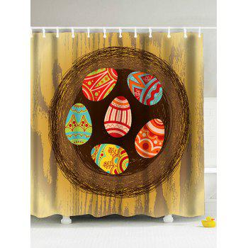 Easter Colorful Eggs Antibacteria Shower Cuartin