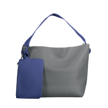 Casual Color Block Shoulder Bag with Pouch Bag