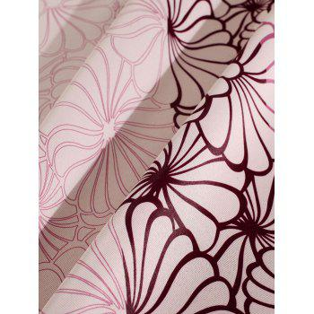 Floral Embroidery Blackout Curtain For Living Room - 100*200CM 100*200CM