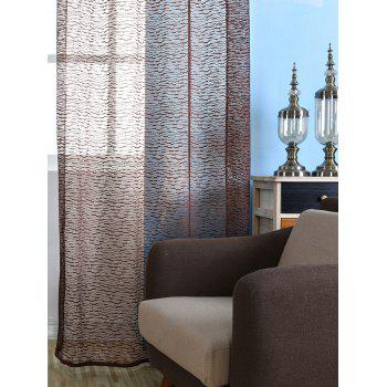 European Sheer Window Tulle Curtain Panel - 100*250CM 100*250CM