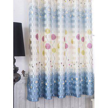 Grommet Top Blackout Curtain Panel Window Screen - 100*200CM 100*200CM