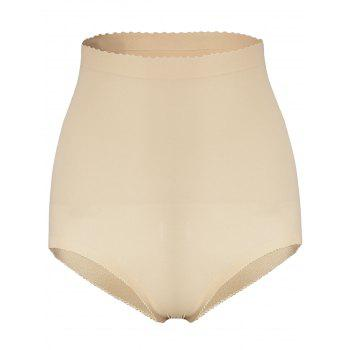 High Waist Padded Seamless Boyshorts - COMPLEXION COMPLEXION