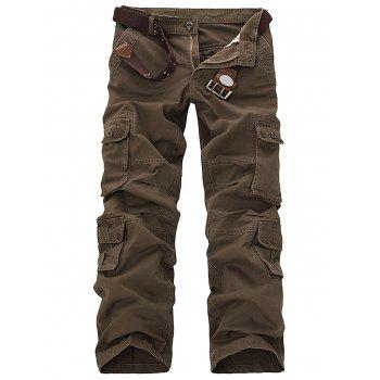Slimming Pockets Design Cargo Pants