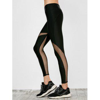 Mesh Insert Workout Leggings