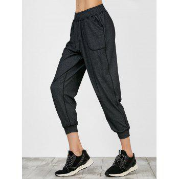 Sporty Joggers Pants With Pockets